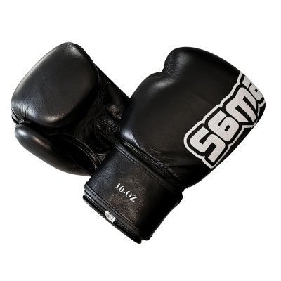 Boxing gloves, Saman, Mex Glove, leather, black
