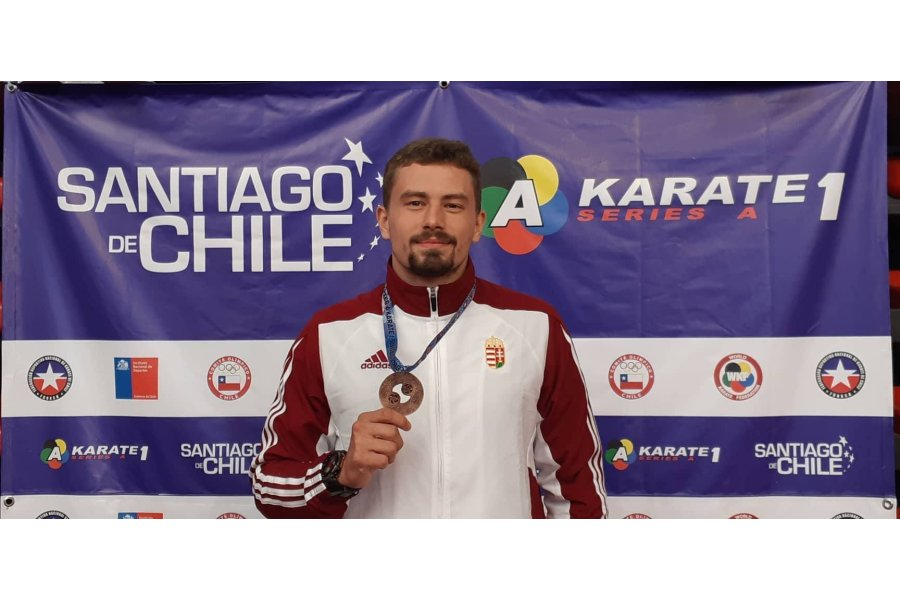 Magyar karatés bronz az olimpiai kvalifikációban