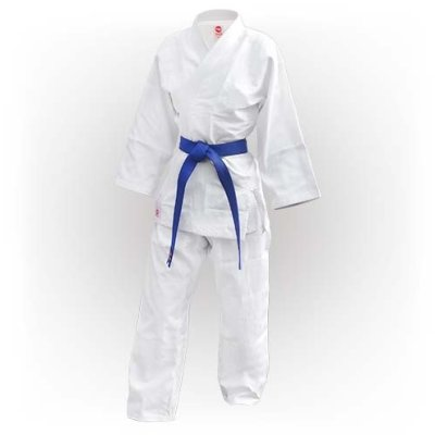 Judo Uniform, Saman, Basic, cotton, white