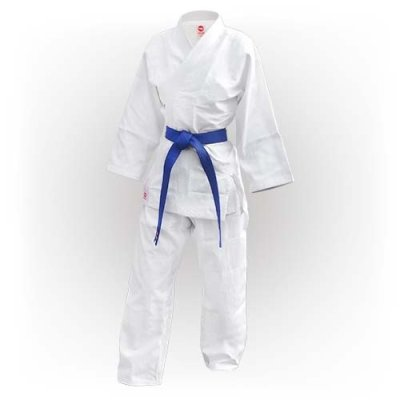 Judo ruha, Saman, Basic, 350g, pamut, fehér