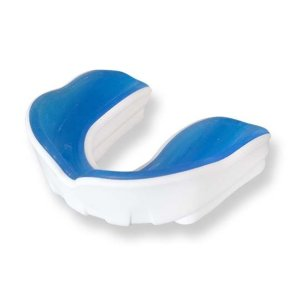 Mouthguard PRO, white/blue, adult
