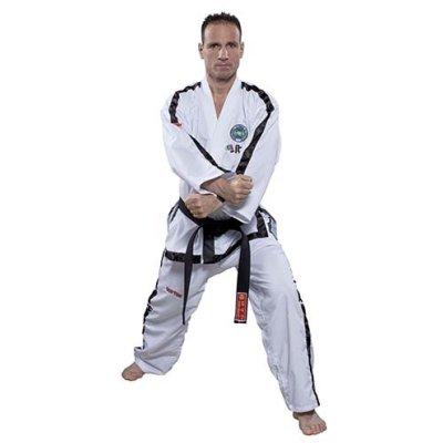 Taekwondo ruha, Top Ten, Instructor Diamond ITF, 4-6 dan szinthez, fehér
