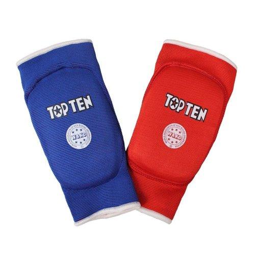 Könyökvédő, Top Ten, WAKO, Kifordítható, piros/kék, M/L méret