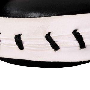 Pontütő kesztyű, Hayashi, egyenes, műbőr, fekete-fehér