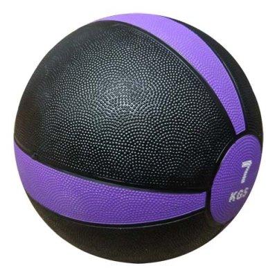 Medicine ball, XFIT, rubber, 7kg