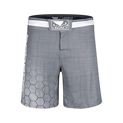 MMA short, Bad Boy, Legacy Prime, grey
