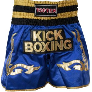 "Thai boxing shorts ""WAKO Kickboxing"", Kék szín, M méret"