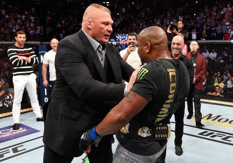 Dana is akarja a Cormier-Lesnar összecsapást