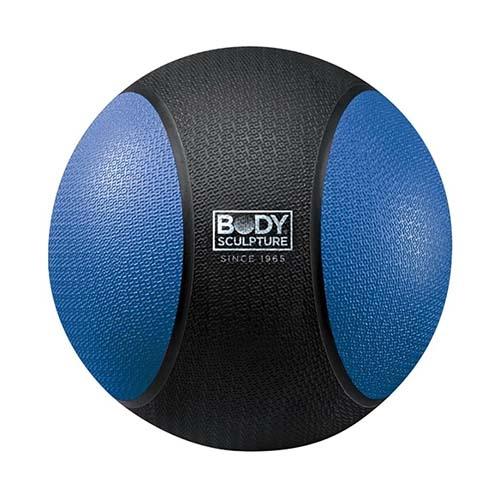 Medicine ball 3 kg, rubber, Body Sculpture
