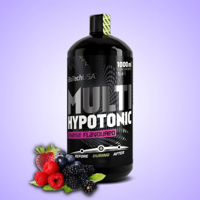 Biotech, Multi Hypotonic Drink, 1000 ml, Erdei gyümölcs