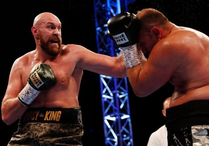 Tyson Fury győzött, így ismét világbajnoki címért bokszolhat