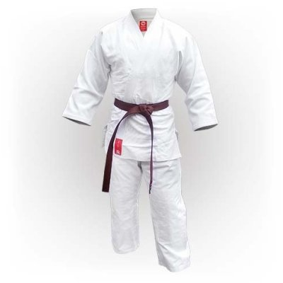 Judo ruha, Saman, Advanced, 450g, pamut, fehér
