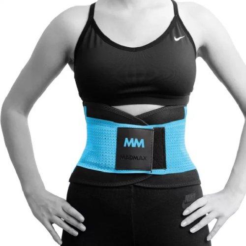 Slimming and support belt, Madmax, Kék szín, M méret
