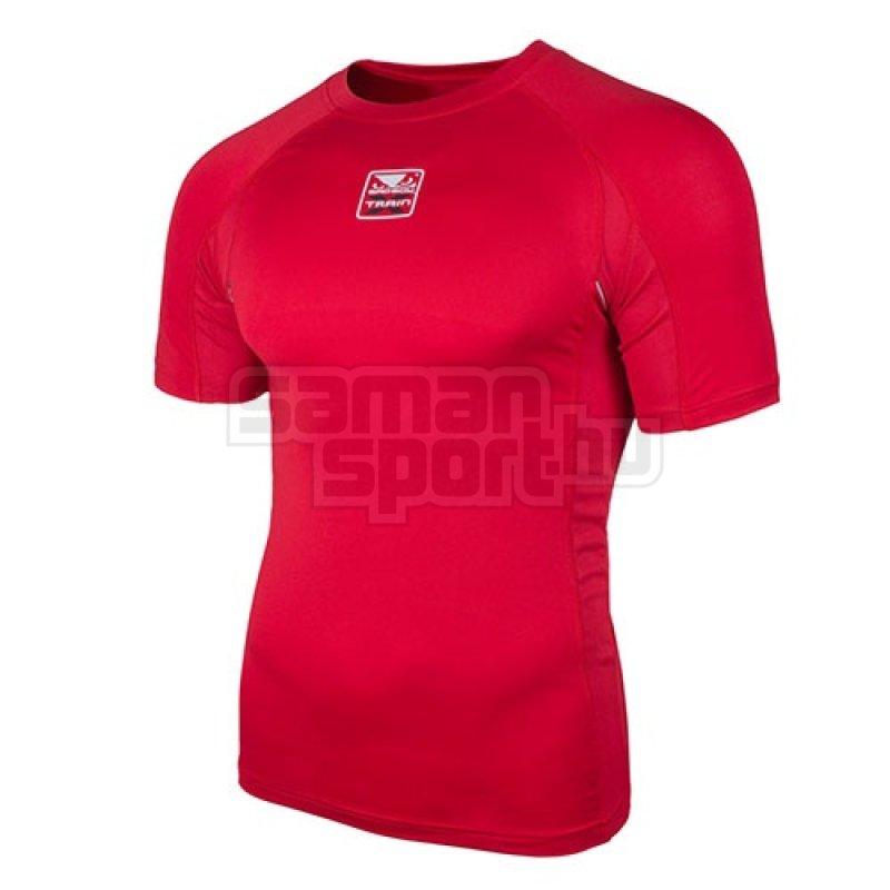 Kompressziós póló, X-Train, Bad Boy, rövid ujjú, piros