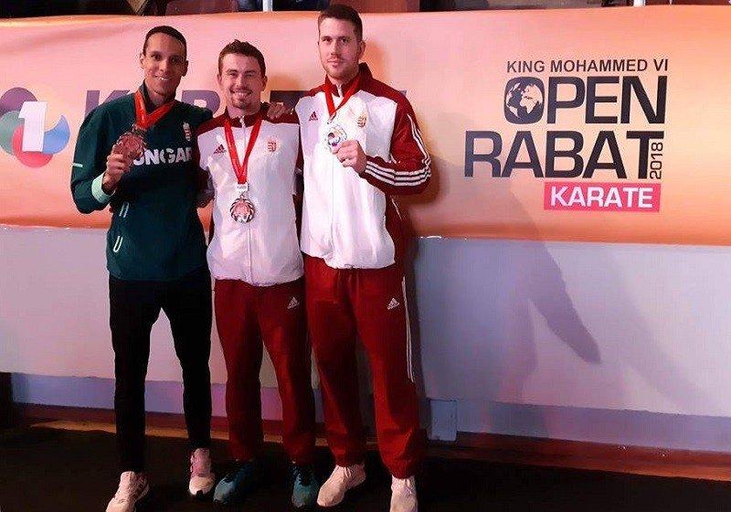 Három magyar karatés bronzérem Marokkóban