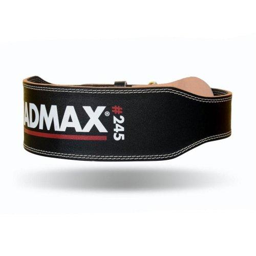 Súlyemelő öv, Madmax, Full Leather, bőr, fekete