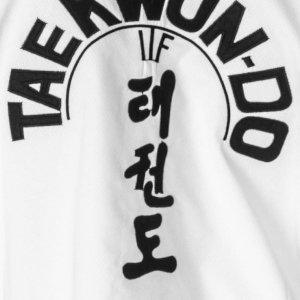 Taekwondo ruha, Top Ten, Master Diamond ITF, fehér, 160 cm méret