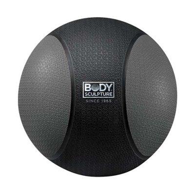 Medicine ball 4 kg, rubber, Body Sculpture