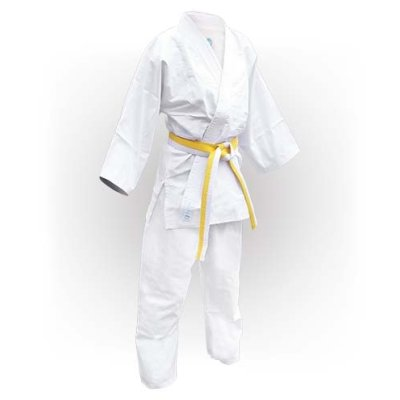 Judo uniform, Saman, Beginner, white