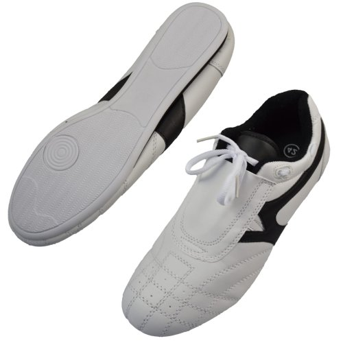 Martial arts shoes, Phoenix, white-black