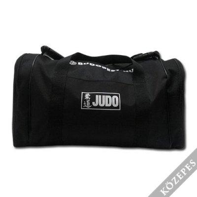 Judo táska, Saman, fekete, közepes