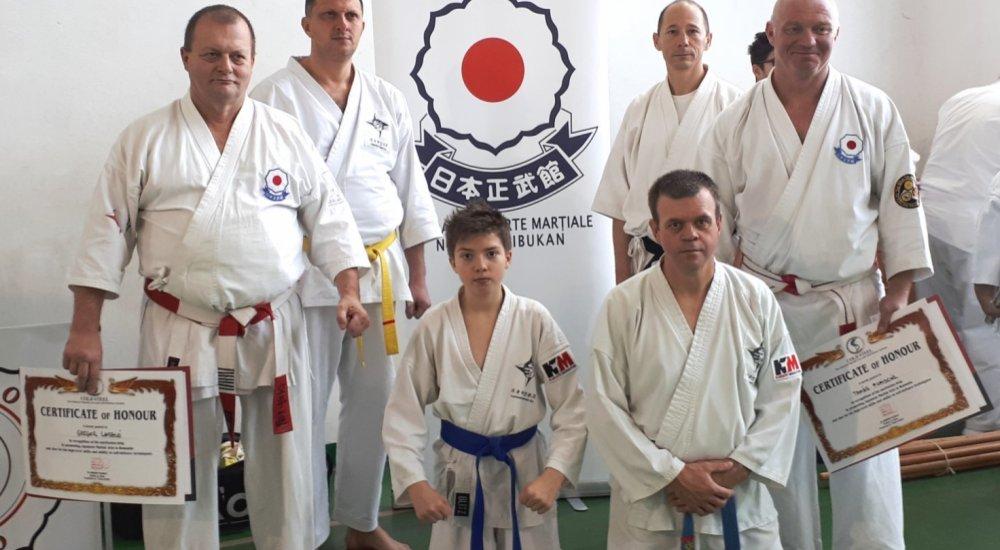 Harcművész szeminárium Temesváron