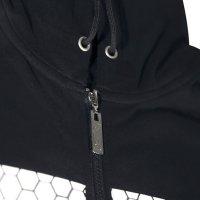 Bad Boy Core ujjatlan kapucnis felső sötétszürke