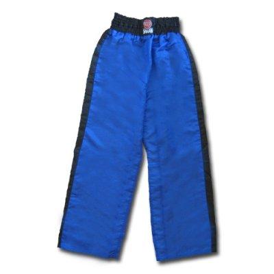 Kick-Box nadrág, Saman, fekete-kék