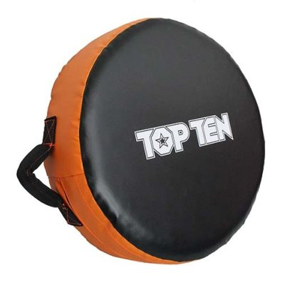 """Körpajzs, Top Ten, """"Jumbo"""", 45 cm átmérő, narancs-fekete"""