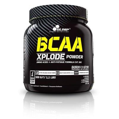 Olimp BCAA Xplode, aminosav, 500 g