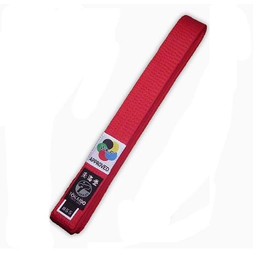 Karate öv, Tokaido, WKF, piros, 305 cm (5,5) méret