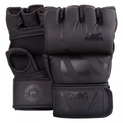 Venum Challenger MMA Gloves - Without thumb - black/black