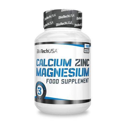 Biotech Calcium Zinc Magnesium 100 tabl.