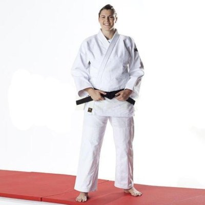Judo uniform, DAX, Tori Gold, white