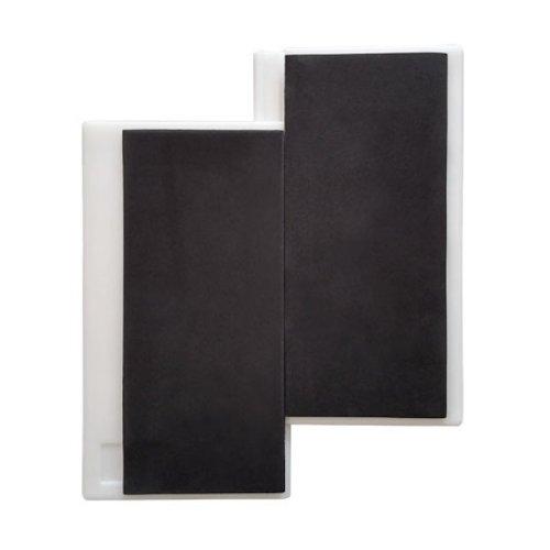 Törőlap, Saman, fekete, 2cm vastag