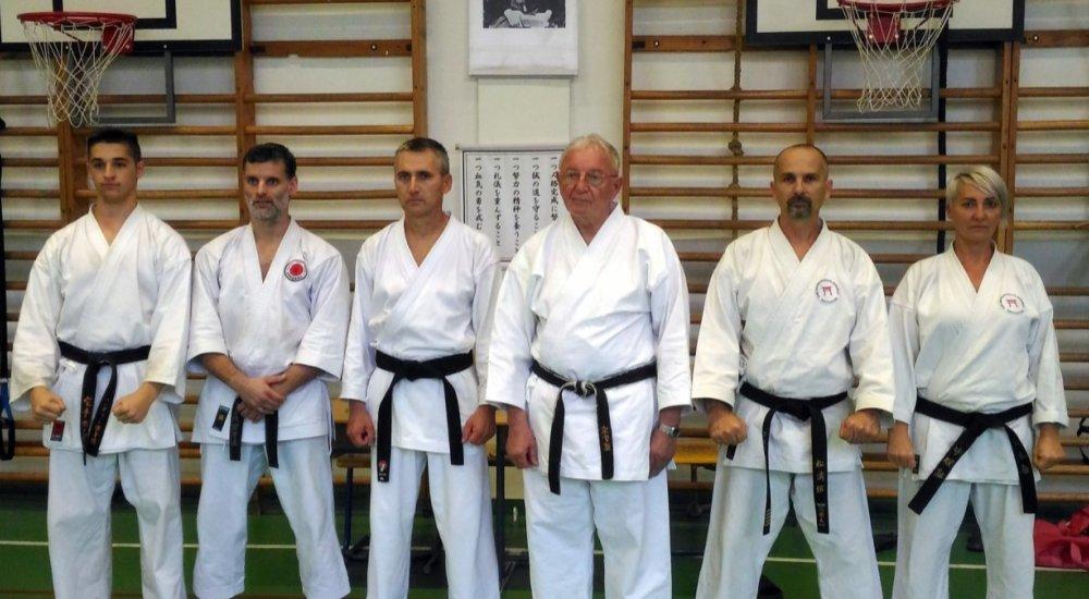 Kesic Bogdan shotokan karate nagymester szemináriuma Nagykanizsán