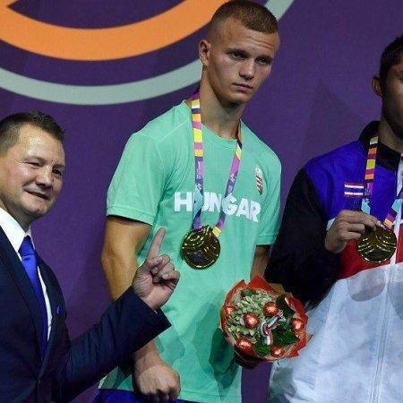 Orbán Adrián ezüstérmes lett az ifjúsági ökölvívó világbajnokságon