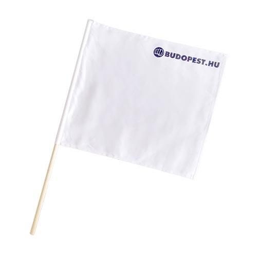 Referee flag, Kyokushin, white