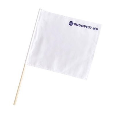 Referee flag, Kyokushin, white