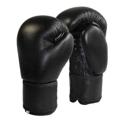 Boxing Gloves, Phoenix, genuine cowhide, black, 10 oz