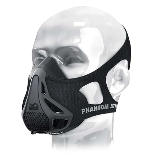Phantom Training mask, black, grey