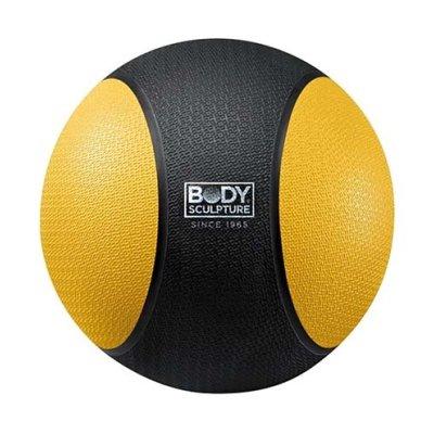 Medicine ball 2 kg, rubber, Body Sculpture