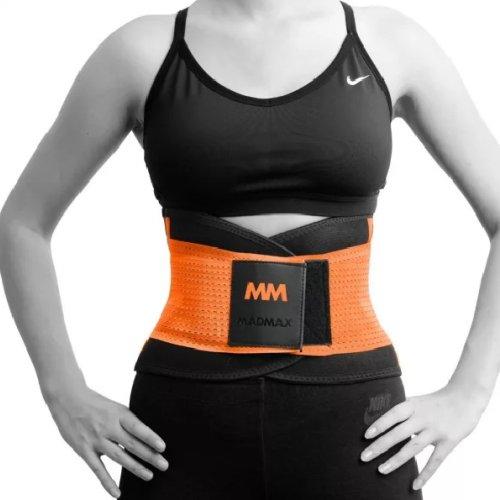Slimming and support belt, Madmax, Narancs szín, M méret