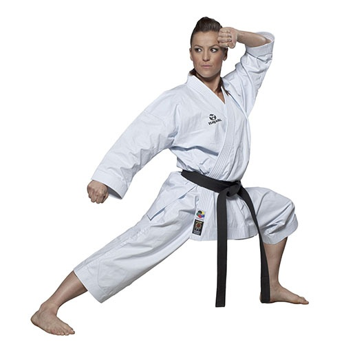 Karate ruha, Hayashi, WKF, Tenno Premium II, fehér, 155 cm méret