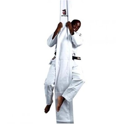 Judo climbing cloth, 30x400 cm, white, w.