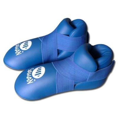 Kick boot, Saman, PU, blue