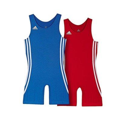 Wrestling suit, adidas, Wrest Pack (for children), red + blue