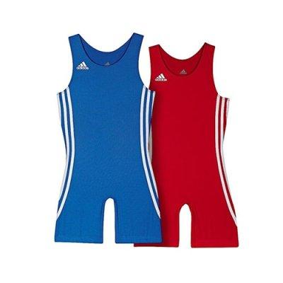 Birkózó ruha, adidas, Wrest Pack gyermek, piros + kék
