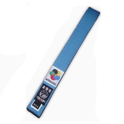 Karate öv, Tokaido, WKF, kék