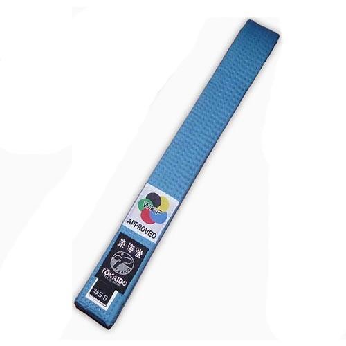 Karate öv, Tokaido, WKF, kék, 315 cm (6,0) méret